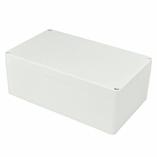 Pinfox Waterproof Electronic ABS Plastic Junction Project Box Enclosure 200mm by 120mm by 75mm (White)