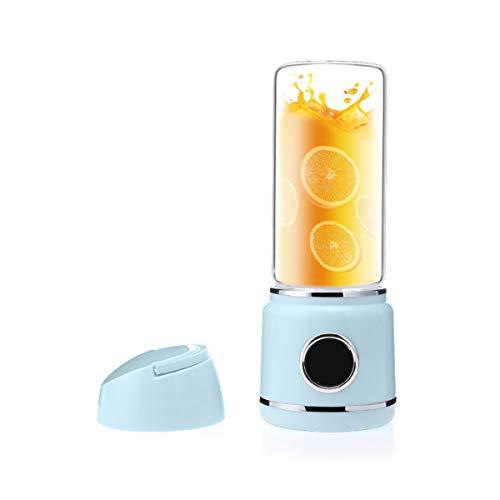 Ckeyin Licuadora de Jugos, Exprimidor Portátil, Mezclador de Frutas USB Recargable -Adecuado para Frutas y Verduras, para Hacer Jugos de Frutas/Batidos/Milkshake, Etc.