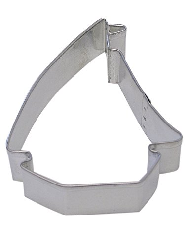 R&M Sailboat 3.5 Cookie Cutter in Durable, Economical, Tinplated Steel