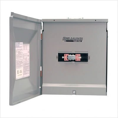Reliance Controls TCA0606DR Outdoor Transfer Panel - 60A Utility and 60A Generator