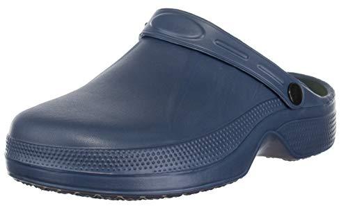 Brandsseller Zuecos para hombre, color Azul, talla 42 EU