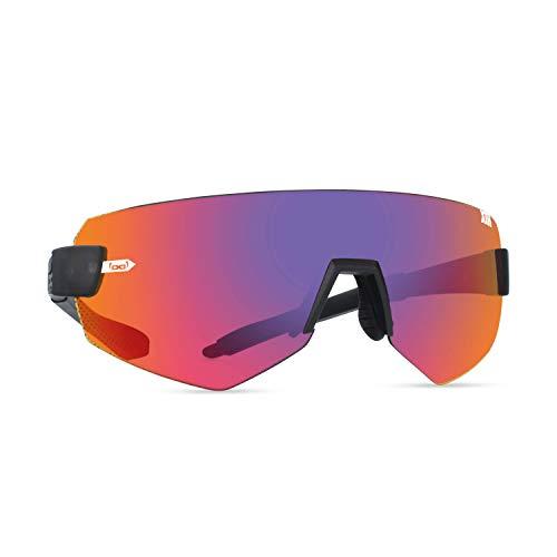 Gloryfy unbreakable eyewear (G9 XTR infrared) - Unzerbrechliche Sonnenbrille, Sport, Rahmenlos, Herren, Damen, Infrarot-Verspiegelte Gläser