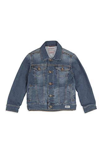 Carrera Jeans - Giacca Jeans per Bambino e Bambina, Tinta Unita, Interno in Felpa IT 164