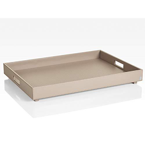 JOOP! HOMELINE, Tablett XL für Beistelltisch mit klappbarem Untergestell, Grau