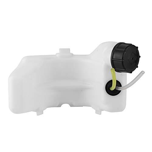 Oumefar Garden Tool Motor Gas Kraftstofftank Baugruppe mit Abdeckung und Kraftstoffschlauchleitungen für GX25 GX25N GX25NT HHT25S Motor Trimmer Kraftstofftanks