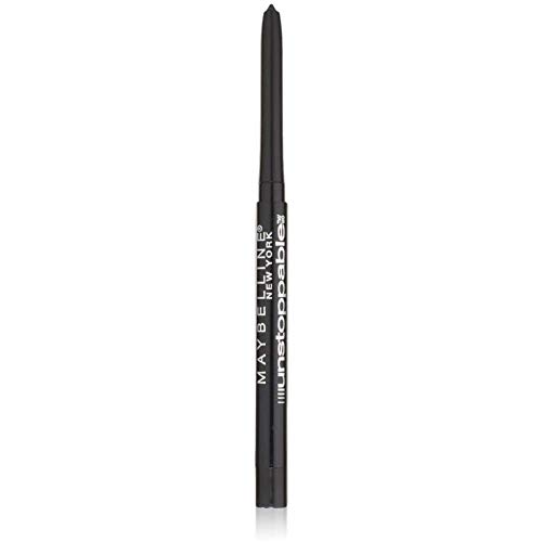 maybelline eye pencils Maybelline Unstoppable Smudge-Proof Eyeliner, Waterproof, Onyx , 0.01 oz (Pack of 2)