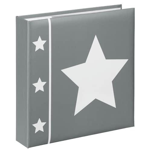Hama Album photo 'Skies' (album grand format, 22,5 x 22 cm, 100 pages, pour 200 photos au format 10 x 15 cm) Gris
