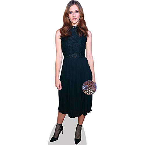 Celebrity Cutouts Aubrey Peeples (Black Dress) Taille Mini