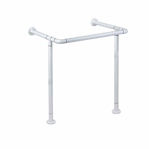 WAZZJ The bathroom accessibility Zhupen basin basin washbasin handrail, handrail, disabled elderly toilet bathroom safety handrail,white