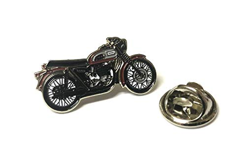 Matfords Triumph Bonneville Bike Pin Badge - UK Company