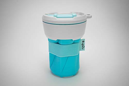 MuC My useful Cup, Vaso reutilizable plegable de 350 ml, Coffee-to-go, fabricado...