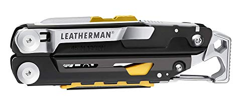Product Image 1: LEATHERMAN, Signal Camping Multitool with Fire Starter, Hammer and Emergency Whistle, Stainless Steel with Nylon Sheath