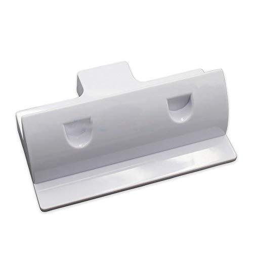 Soportes de panel solar de resistencia a los rayos UV ABS Soportes de montaje de panel solar 2 soportes de esquina libres de taladros Soporte para marco de madera Barco Campistas Caravanas Campana