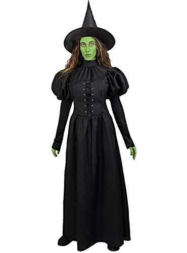 Funidelia   Disfraz de Bruja Mala del Oeste - El Mago de Oz Oficial para Mujer Talla XL El Mago de Oz, Pelculas & Series - Color: Negro - Licencia: 100% Oficial
