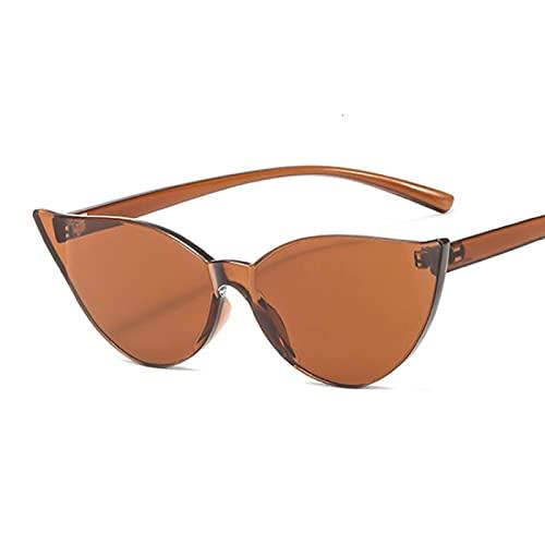 ShSnnwrl Gafas De Moda Gafas De Sol Gafas De Sol De Moda para Mujer, Rojo, Amarillo, Moda, Ojo De Gato, Gafas De Sol, Gafas De Conducción para Mujer, Uv4
