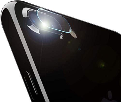HongMan Cristal Templado para Lente Cámara de iPhone 7 Plus/8 Plus, Ultra...