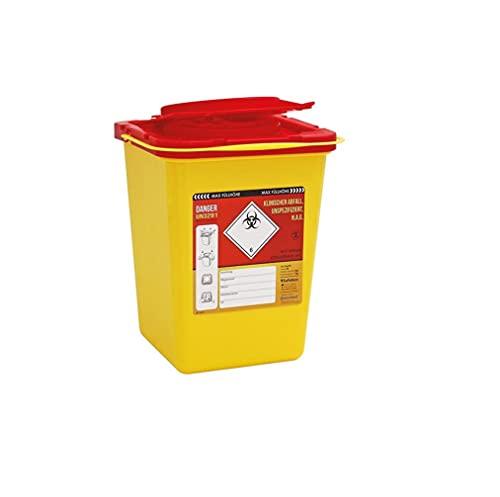 Kanülenabwurfbehälter ratiomed von carmesin.com 193518 Safe-Box 3,0 Ltr.