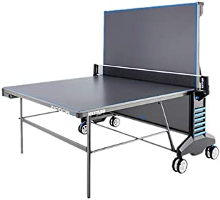Kettler 07132-900 Indoor 4 Table Tennis - Gray and Blue