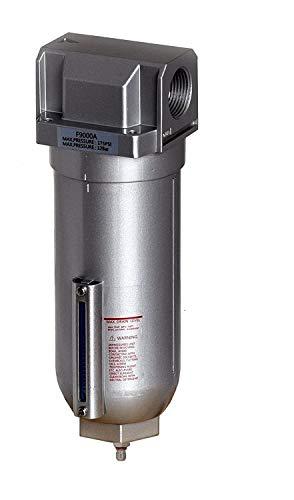 3/4' Inline Air Compressor Water Moisture Filter Trap Separator w/ Manual Drain