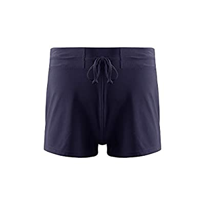 Amazon - Save 15%: BASIC EDITIONS Women's Plus Size Swim Shorts, High Waist Tankini Bottom Boy…