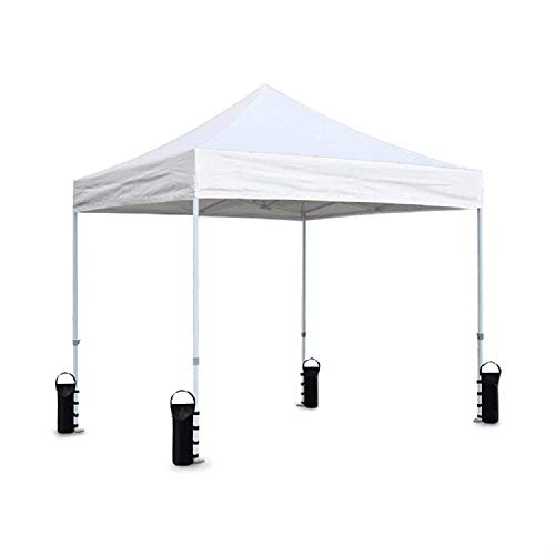 VOXY LBS Extra Large Pop up Canopy Weights Sand Bags for Ez Pop up Canopy Tent Outdoor Instant Canopies, 4-Pack