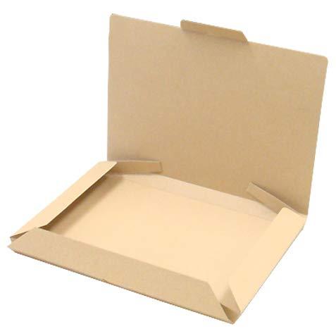 小型宅配箱【クラフト】【B5対応】 業務用 200個セット (N式 ダンボール箱 段ボール箱 梱包 ダンボール 組み立て式 組立式 折りたたみ式 折り畳み式)
