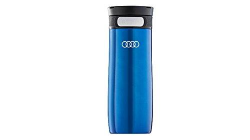 Audi Sport GmbH Trinkbecher Edelstahl, dunkelblau, 410 ml