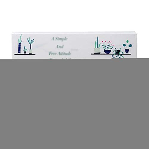 LaoZan Elastisches Gewebe Klimaanlage Abdeckung Farbdruck Klimaanlage Staubschutz Schutzhülle (Stil 5,80 * 20 * 27cm(1P))