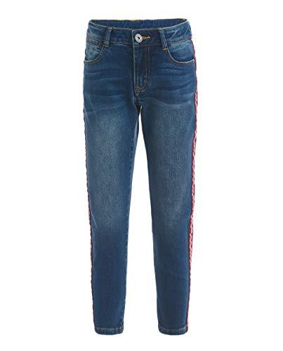 GULLIVER Jungen Jeans Jeanshosen Kinder Junge Blau mit Seitenstreifen 8-13 Jahre 134-164 cm