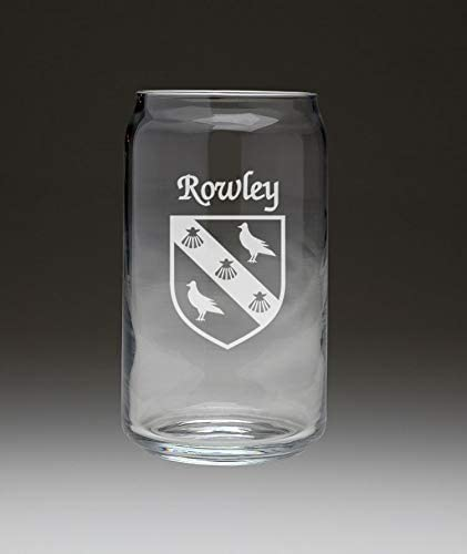 Rowley Irish Coat of unisex Branded goods Arms Beer Set 4 Can - Glass