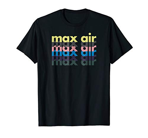 Max Air Gym Fitness Exercise Health and Wellness T-Shirt
