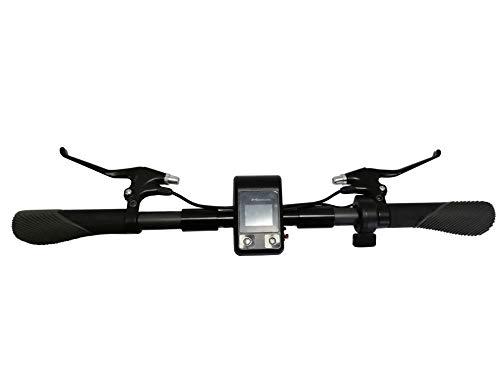 SPEDWHEL Juego de manillar original con salpicadero para scooter eléctrica Mercane 2020 WideWheel Pro.