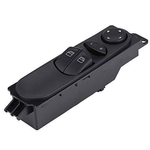 aqxreight - Fensterheberschalter, Hauptschalter für die Fensterhebersteuerung des Autos Power Fit für 2003-2014 W639
