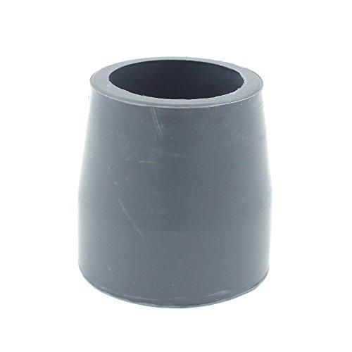 Lifeswonderful - Gummifuß 27mm Für Klappbar Gehgestelle von Drive Medical etc - Grau