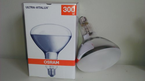 300R/E27/ULTRA VITALUX OSRAM SUN LAMP MEDICAL TANNING BULB 300 WATTS UV BULB 230 VOLTS