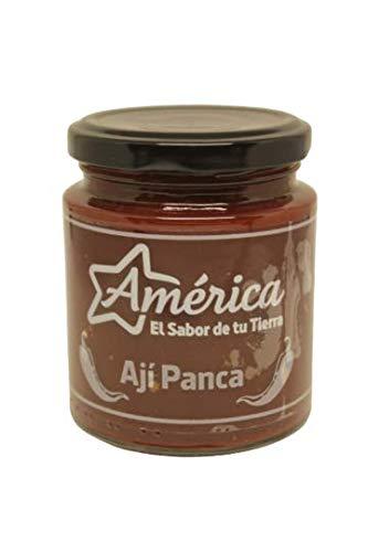 America - Pasta Aji Panca - Prodotto latino - Ideale per dare un sapore speciale ai vostri pasti - 212 g
