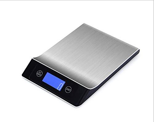 Báscula Digital para Cocina de con Pantalla LCD Balanza de Alimentos, con función de tara,alta precisión escala digital -5 kg
