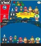 K'Nex Super Mario Series 4 Blind Bags (Single Packet) by K'Nex