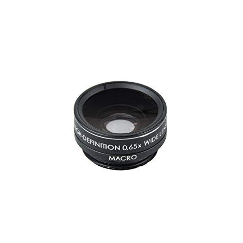 Kenkoスマートフォン用交換レンズREALPROCLIPLENSワイド&マクロ0.65xクリップ式120°広角レンズKRP-065wm