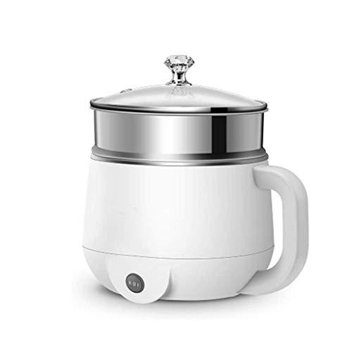 DYXYH Multi-fonctions électrodomestiques Hot Pot, Vapeur Voyage Portable Petit, minutes de cuisson rapide, amovible antiadhésif Pot
