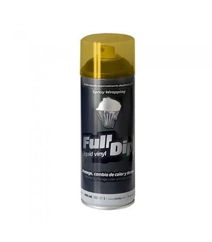 Full Dip - Vernice spray per fari, color giallo fumé, 400ml