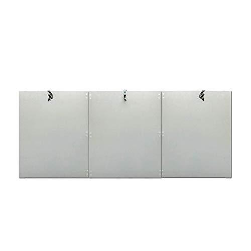 BOYISI Wärmefokussierende Reflektorabdeckung, rundes Erdgas und Propanheizung Wärmefokussierung Reflektor-Falten, Outdoor-Heizungszubehör 3-TLG