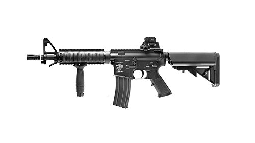 D-Boys M4 RIS CQB Navy Full Metal (0.9 Joule)-(3981M)