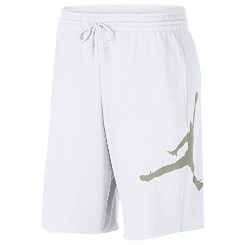 Nike Air Jordan Fleece - Gröbe L - Shorts Für Herren - Rot