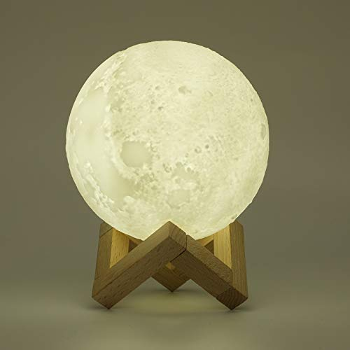 LED Night Lights - Creative 2 in 1 3d Moon Lamp met Air Humidifier Diffuser Aroma Essential Oil Usb Night Light Cool - Holder Decorative Cover Automatische Bulbs Bedroom Home Outlet Dusk Lights N