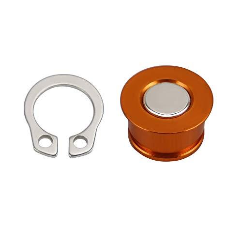 NO LOGO 1set Motorrad-Tacho/Kilometerzähler Rotor Magnet passend for KTM125-530 XC/XC-W/XC-W TPI/XC-W Sechs Tage/XCF-W/EXC/EXC Six Days/EXC-F 2003-2020 (Farbe : Orange)