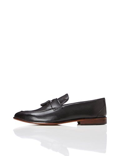 find. Andrews, Herren Loafers, Schwarz (Smart Black), 42 EU (8 UK)