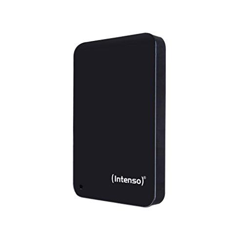 Intenso Memory Drive 2TB Externe Festplatte inklusive Tasche, 6,4 cm (2,5 Zoll), 5400rpm, 8MB Cache, USB 3.0) schwarz