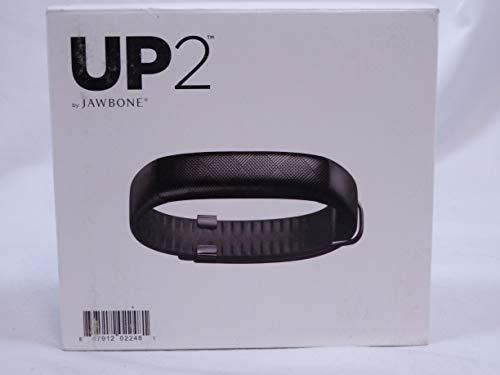Jawbone UP2 - Black Tracks steps, exercise calories hours slept Get alerts......