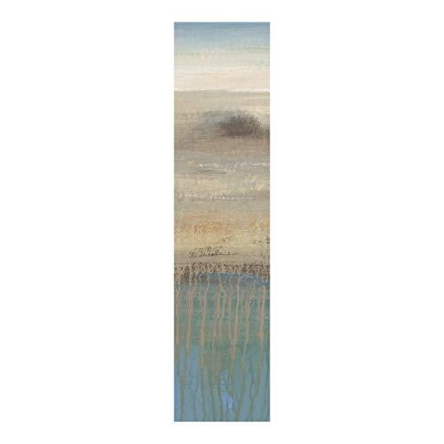Bilderwelten Schiebegardinen Set Bestimmungsort Flächenvorhang Wandhalterung 250x60cm